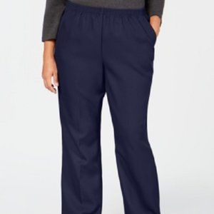 New Karen Scott Classic Fit Comfort Waist Pants